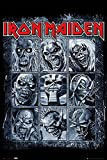 Close Up Iron Maiden Poster Eddie's Evolution (61cm x