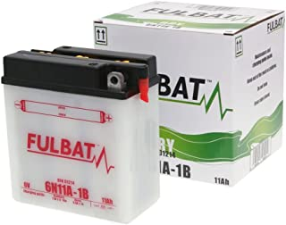 Fulbat   Motorrad Batterie 6N11A 1B 6V 11Ah   Akku(s)