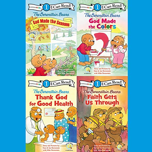 The Berenstain Bears I Can Read Collection 2 cover art