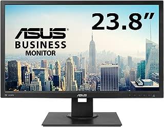 ASUSビジネス向けモニター 23.8インチ IPS 4系統(DP HDMI DVI D-Sub)高さ調整 縦横回転 ブルーライト軽減 5年保証 BE249QLBH