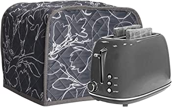 """Toaster 2 Slice Dust-proof Cover, Bread Maker Covers 11.5""""x8""""x8"""", Bakeware Protector for Standard 2 Slice Toaster Machine, Cotton Quilted Kitchen Small Appliance Cover"""