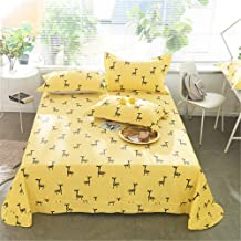 FENGDONG Bed Sheet Set King Full Queen Twin Size Bed Sheet Kids/Adult