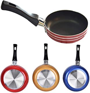 Villeur Portable Nonstick Frying Pan Skillet Mini Cookware Household Kitchen Tool Grill Pans