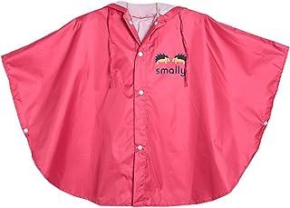 comprar comparacion Poncho Highdas para bebés y niños, para la lluvia, con capucha, impermeable y de 80 cm a130cm rojo rosso Talla:S