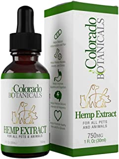 Colorado Botanicals Hemp Oil 750mg for All Pets & Animals