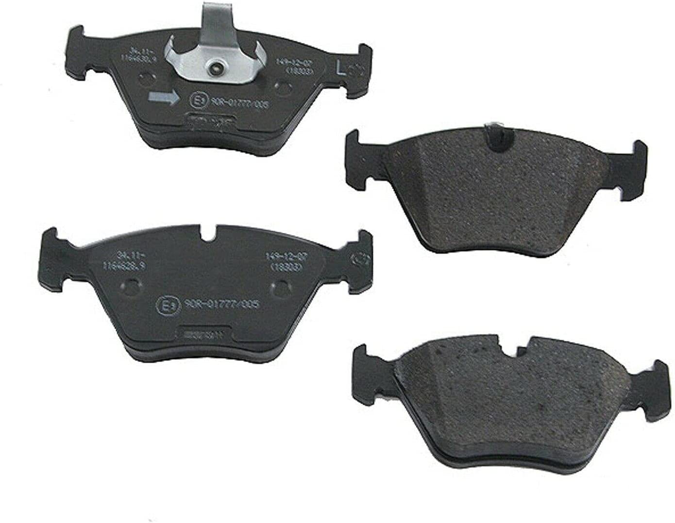 Front Brake Pad Set Compatible with Max 55% OFF BMW 1997-2003 528i E39 525i Colorado Springs Mall