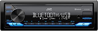 $99 » JVC KD-SX26BT Bluetooth Car Stereo Receiver with USB Port – AM/FM Radio, MP3 Player, High Contrast LCD, Detachable Face Pl...