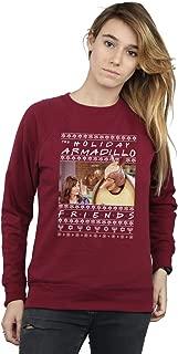 Friends Women's Fair Isle Holiday Armadillo Sweatshirt