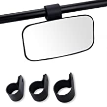 Moveland Side Rearview or Center Mirror for Universal UTV, Off Road Large Adjustrable Wide Rear Clear View