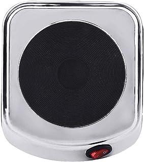 Raguso Réchaud électrique portatif Durable en tôle d'acier laminée à Froid 500W pour café thé en 6,1 x 5,3 x 2,4 Pouces