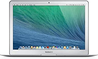 Apple MacBook Air MD760LL/A 13.3-Inch Laptop (Intel Core i5 Dual-Core 1.3GHz up to 2.6GHz, 4GB RAM, 128GB SSD, Wi-Fi, Bluetooth 4.0) (Renewed)