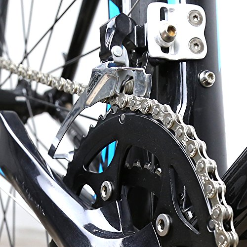 ZONKIE Fahrrad Kette 9-fach 116 Glieder - 4