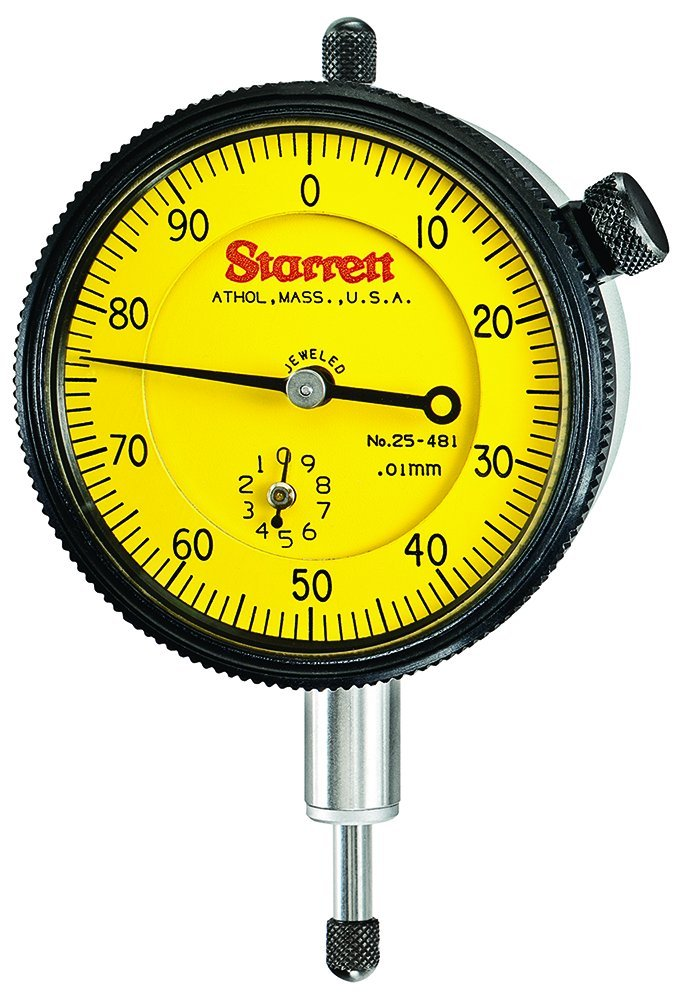 Limited time for free shipping Starrett New Free Shipping 25-481J Indicator Dial