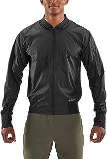 SKINS Men's Activewear Orsa Bomber Run JA, Black, T0M