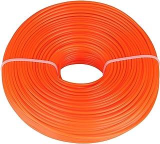 iFCOW - Cuerda redonda de alambre de nailon de 3 mm, cortacésped de gasolina, 120 m