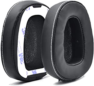 Defean 1 Pairs Black Ear Pads Ear Cushion Cover with Tape Compatible with Skullcandy Crusher Over Ear Wired Built-in Ampli...