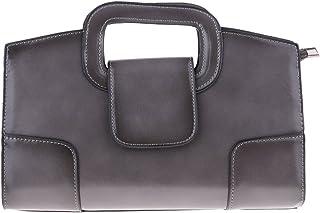 Baosity Women PU Leather Handbags Shoulder Bag Messenger Purse Satchel Tote For Party
