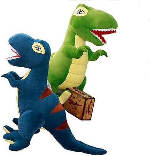 disfrutando de sus compras Muziwenju Peluches, Dinosaurios, Peluches, muñecas de Trapo para para para Dormir, muñecas de tiranosaurio, Regalos de cumpleaños, Mejores Regalos (Color   azul, Talla   160cm)  grandes ahorros