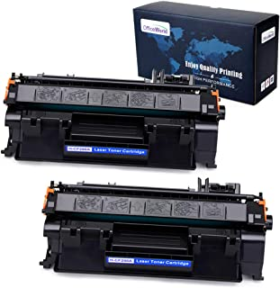 OfficeWorld Compatible Toner Replacement for HP 80A CF280A for HP Laserjet Pro 400 M401n M401dne M425dn M401dw M401dn M425dw (Black, 2-Pack)