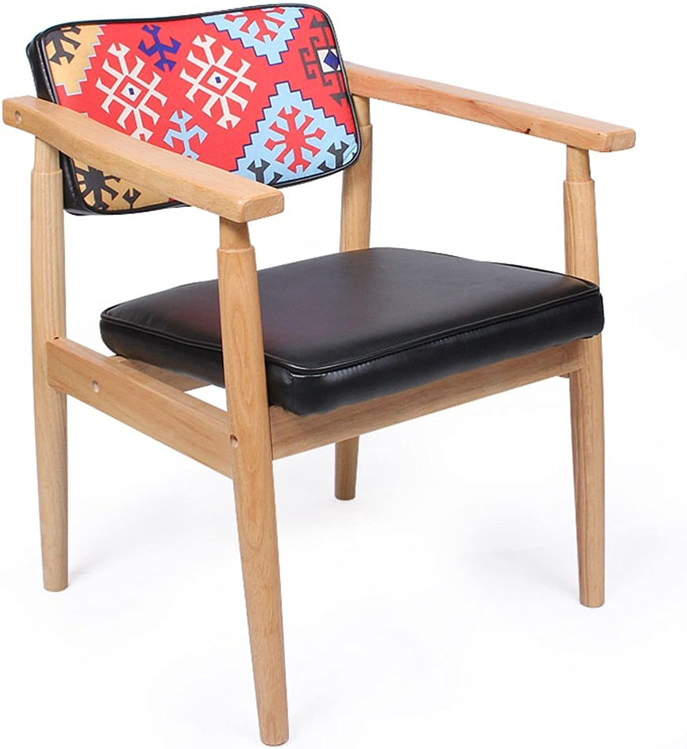 LIQICAI Wooden Black Bar Stool with Backrest and Footrest Breakfast Extremely Comfy, 4-Leg Structure, 3 Height Optional (color   2PCS, Size   36x36x90cm)