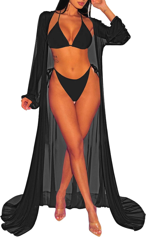 HAPCOPE Women's 2 Piece Swimsuit Sexy Swimwear Halter String Triangle Bikini Sets