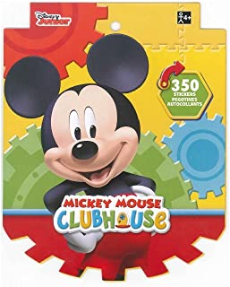 Disney Mickey Mouse Sticker Book for Kids (over 350 stickers)-1 PACK