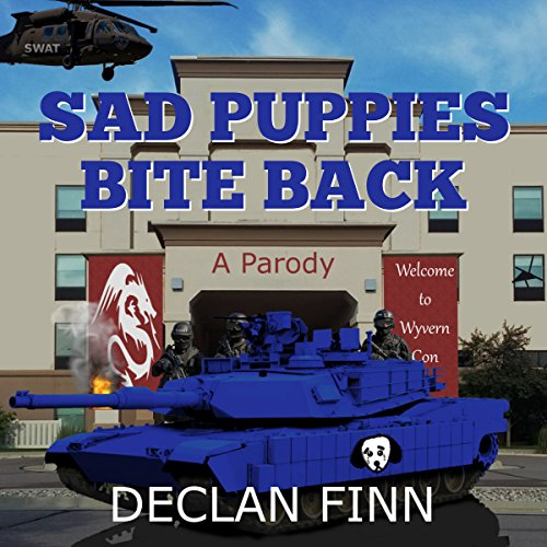 Sad Puppies Bite Back audiobook cover art