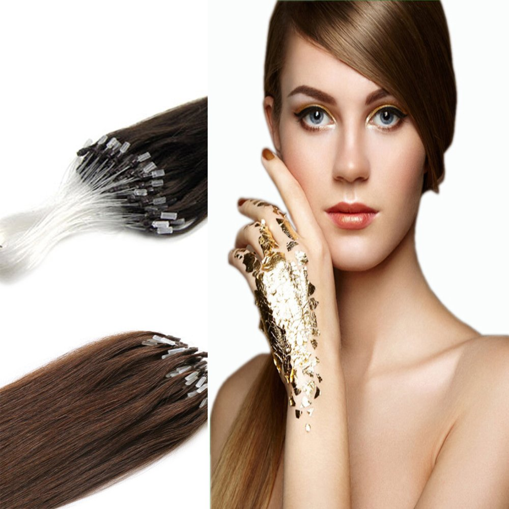 Yotty Remy Human Hair Extensions Micro Ring Draw Double Tip OFFicial store All items in the store Loop