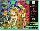 Djeco DJ08607 - Set para Pintar Cuadros de Art Nouveau - Taller Art Nouveau