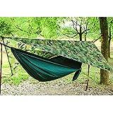 LYXDZW Camping Hamac Set avec Moustiquaire,Double Portable Outdoor Hamac Moustique Camping (280x140cm) pour Camping Randonnée Pédestre Jardin (Color : Picture Three)