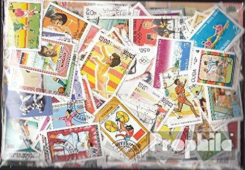 Prophila Collection Motivazioni 600 Diversi Sport Francobolli (Francobolli per i Collezionisti) Altri Sport