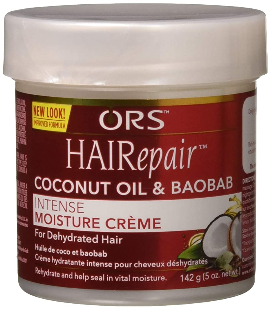 高架文明化出会いOrganic Root Hairepair Intense Moisture Creme 140g (並行輸入品)