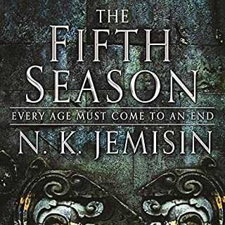 The Fifth Season     The Broken Earth, Book 1              By:                                                                                                                                 N. K. Jemisin                               Narrated by:                                                                                                                                 Robin Miles                      Length: 15 hrs and 27 mins     587 ratings     Overall 4.4