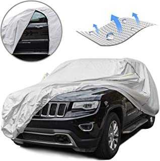 f33e32516d12 Tecoom Breathable Material Door Shape Zipper Design Waterproof UV-Proof  Windproof Car Cover with Storage