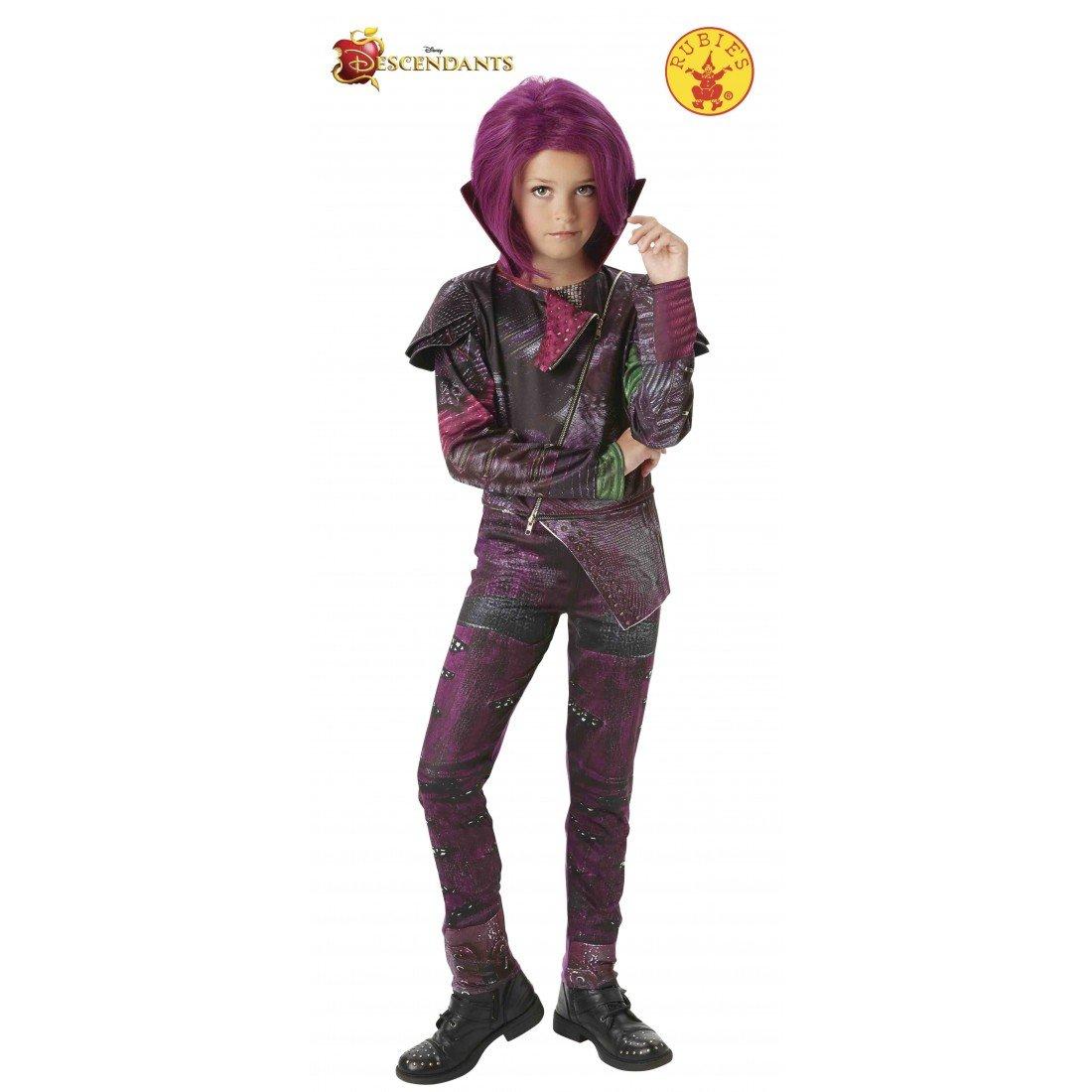 Los Descendientes - Disfraz de Mal Deluxe para niña, 7-8 años ...