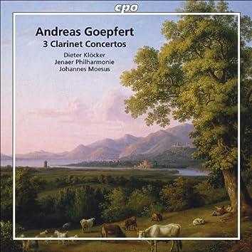 Goepfert: Clarinet Concertos, Opp. 14, 20 & 35