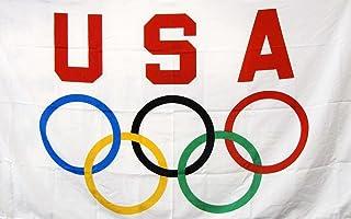 NEOPlex 3` x 5` Flag - USA Olympics
