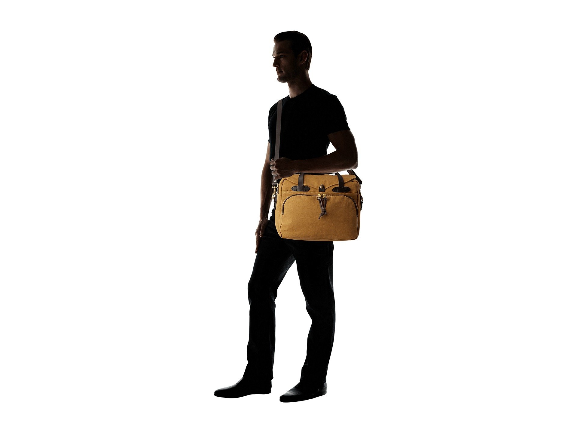 Laptop Padded briefcase Tan Filson Bag fUHw5q5Y