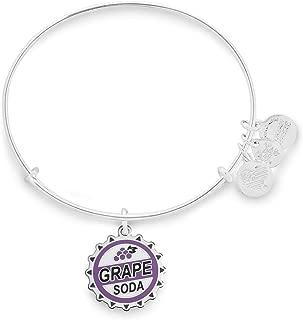Disney Pixar Up Grape Soda Bangle Bracelet Silver