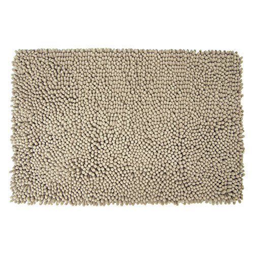 Differnz 31.220.37 badmat, Chenille Shaggy, taupe