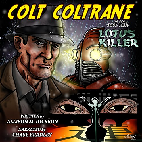 Colt Coltrane and the Lotus Killer audiobook cover art