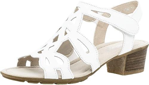 Gabor 24.561 Femme,Chaussures d'été,Chaussures à à Talon Ouvert,Talon Haut,féminin  bonne qualité
