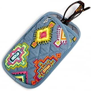 Vera Bradley Double Eye Case in Painted Medallions