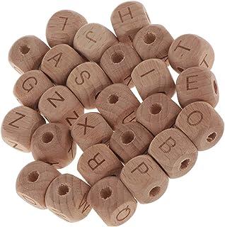 3dc063e3e69c Amazon.es: abalorios madera letras
