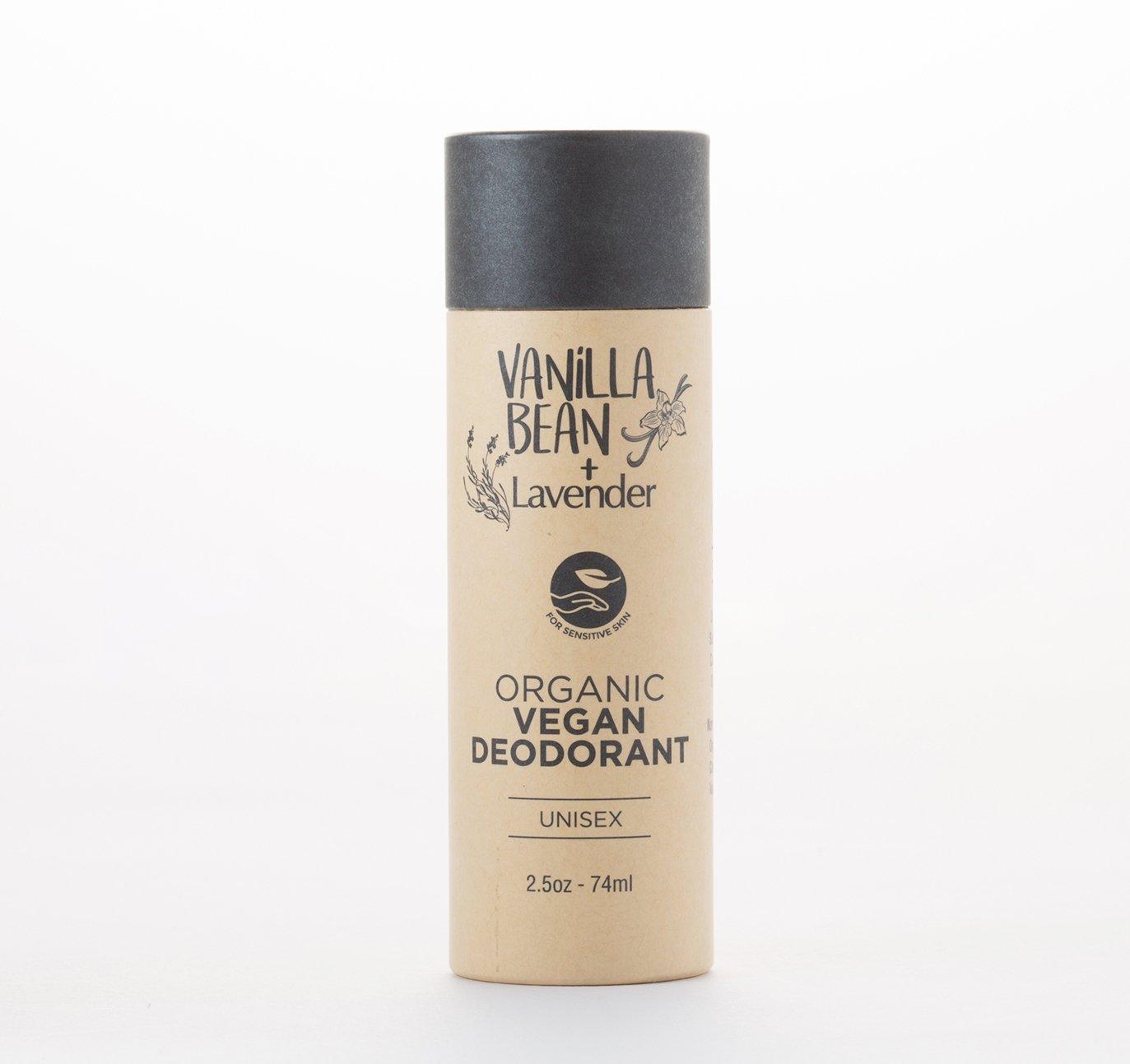 All Natural Deodorant Biodegradable Packaging