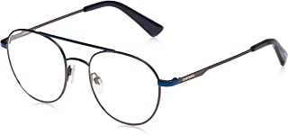 نظارات شمسية للجنسين من ديزل DL028792A50 - لون ازرق/ودخاني معدني