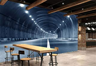 XPFZHC Wallpapers Photo Custom Modern 3D Large Mural time Tunnel Channel Living Room Bedroom TV Background Home decoration-400cmx280cm