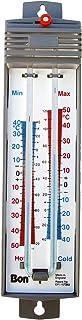 Bon Tool 82-726 Min-Max Thermometer Mercury Free