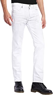 cheap white mens jeans