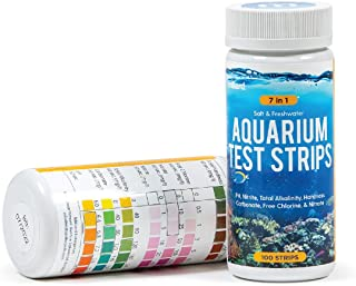 Milliard Aquarium Test Strips / 7 in 1/100 Count/for Fresh Water and Salt Water Tanks thumbnail